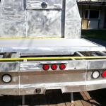 Custom truck bed ready to powdercoat
