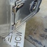 Custom Aluminum truck door