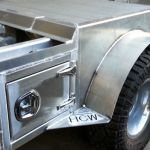 Custom Aluminum truck door 1