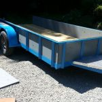 custom steel trailer