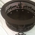 Custom Steel CNC Cut Horse Theme Fire Pit Ring
