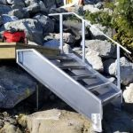 custom beach steps